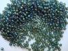 Бисер японский TOHO 11/0 прозрачный радужный оливковый-180