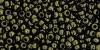 Бисер японский TOHO 11/0 золотой глянец, тёмно-шоколадная бронза-422