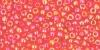 Бисер японский TOHO 11/0 прозрачный радужный светлый сиамский рубин-165