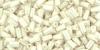 Стеклярус ТОНО 3мм непрозрачный глянцевый кремовато-белый-122
