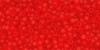 Бисер японский TOHO 15/0 прозрачный матовый сиамский рубин-5ВF